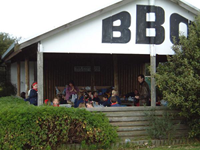 BBQ / Barbeque area at Amaze n Games