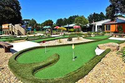 Amazing Mini Golf course