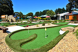 Mini Golf course shot 3